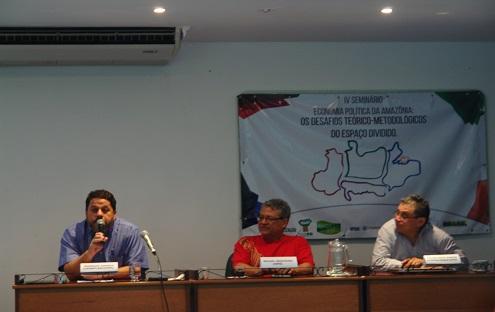 Foto IV Seminário Economia Política da Amazônia: Os Desafios Teórico-Metodológicos do Espaço Dividido (IV EPA)