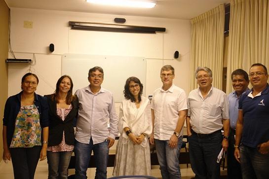Foto Posse de Marcela Vecchione Gonçalves no NAEA