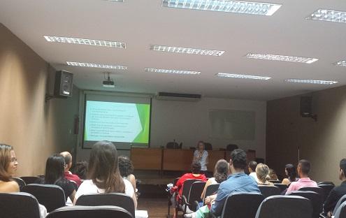 Foto Profa. Mirian Rejowski (USP) Palestra Avanços nos Estudos do Turismo e Hospitalidade. Encerramento do XXV FIPAM (09/03/2015)