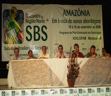 Foto 1º Encontro da Região Norte da SBS - 2008 (à direita da foto, Prof. Francisco de Assis)