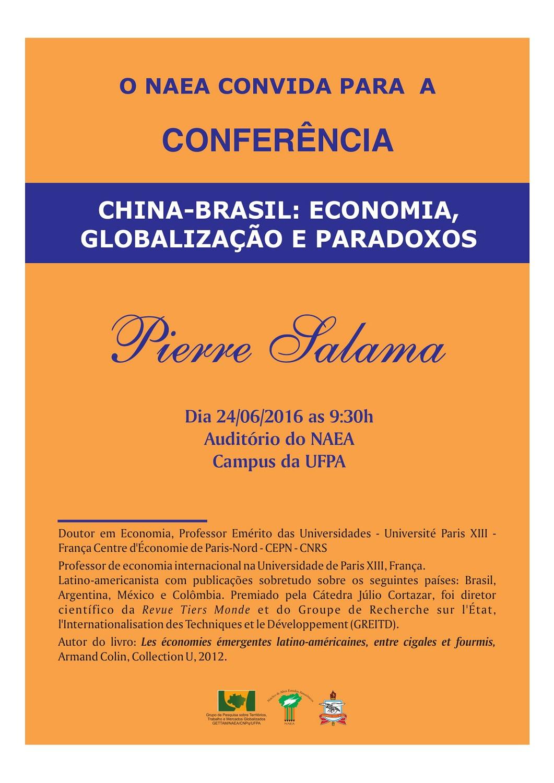 Foto Conferência China-Brasil: Economia, Globalização e Paradoxos
