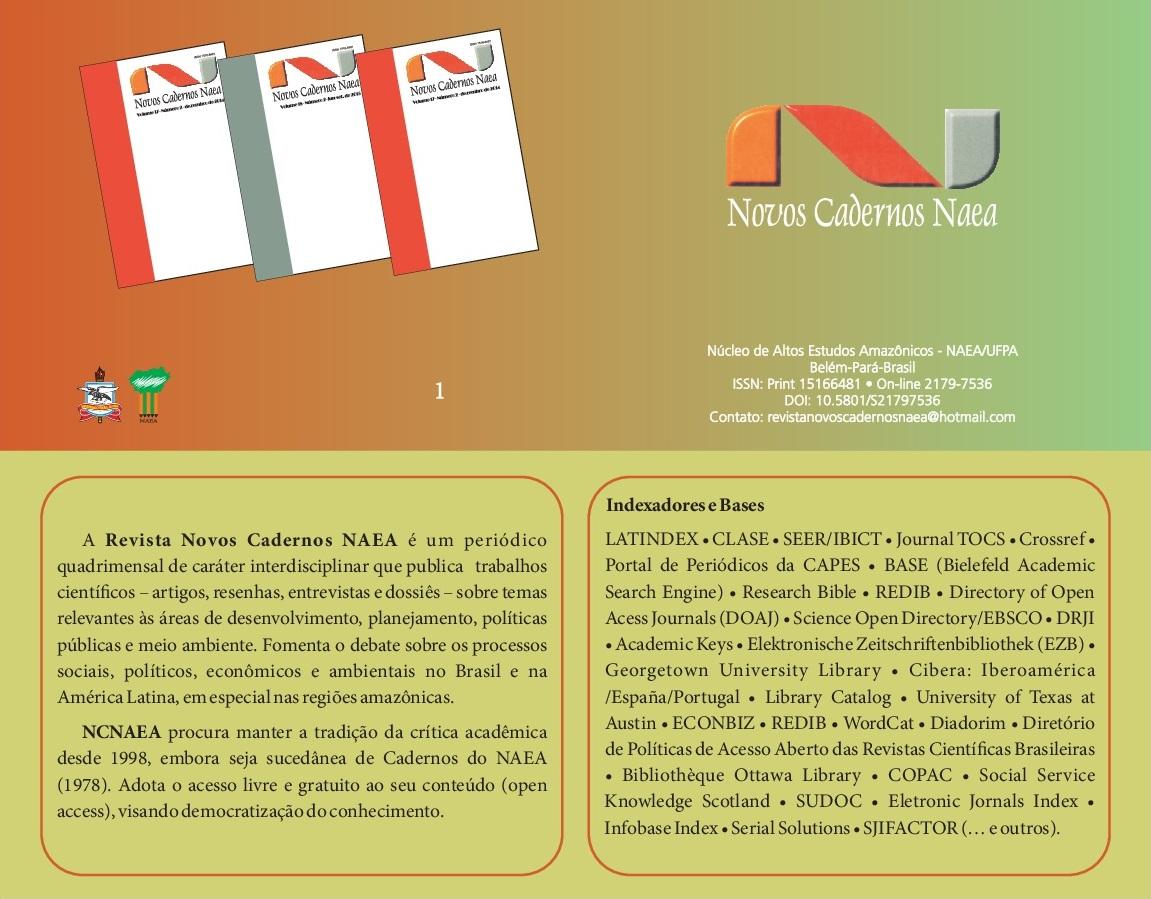 Foto Revista Novos Cadernos NAEA
