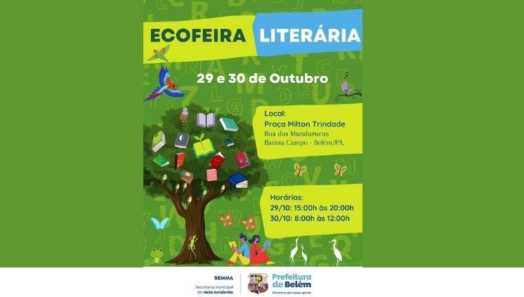 Ecofeira Literária da SEMMA-Belém